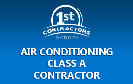 Air Conditioning Class A Contractor
