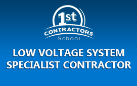 Low Voltage System Specialist Contractor