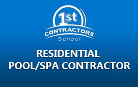 Residential Pool/Spa Contractor
